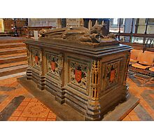 King John's Tomb - Worcester Cathedral Photographic Print