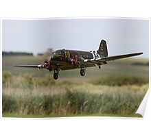 Radio Controlled DC3 Dakota Poster