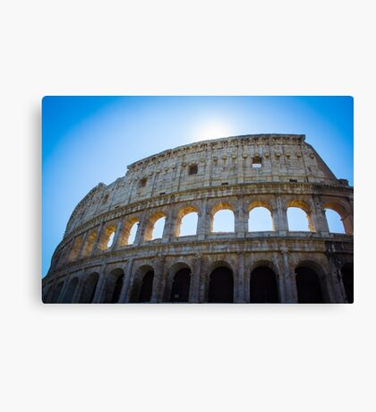 The Colosseum, Rome Canvas Print