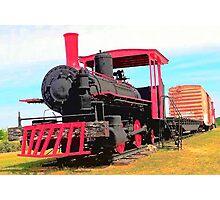 Restored Locomotive Photographic Print
