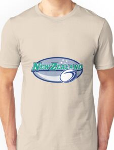 Rugby Ball New Zealand  Unisex T-Shirt