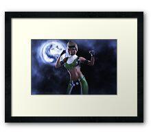Sonya Blade Framed Print