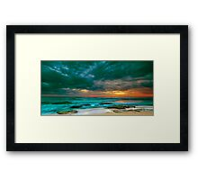 Bateau Bay Sunrise  Framed Print