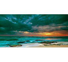 Bateau Bay Sunrise  Photographic Print