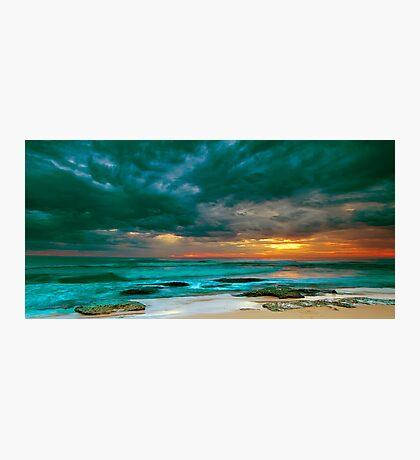 Bateau Bay Sunrise  Photographic Print