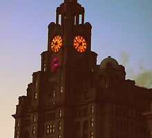 100 Years of the Liver Building by Heather Allan