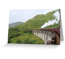 "A journey with ""the Lord of the Isles"", Scotland. Greeting Card"