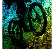 Mountain Bike Dirt Photographic Print