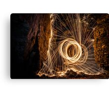 Inglis Crevice Steel Wool Canvas Print