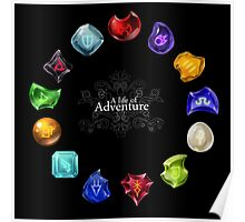 A Life of Adventure Poster