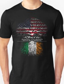 Ahern - Amreican Grown with Irish Roots T-Shirt