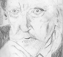 Augustus John/artist -(050811)- pencil/paper by paulramnora