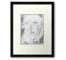 Augustus John/artist -(050811)- pencil/paper Framed Print