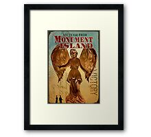 BioShock Infinite – Souvenir from Monument Island Framed Print