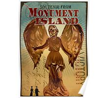 BioShock Infinite – Souvenir from Monument Island Poster