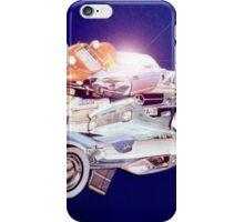 Car in Space. iPhone Case/Skin