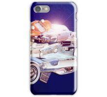 Car in Space. iPhone Case/Skin