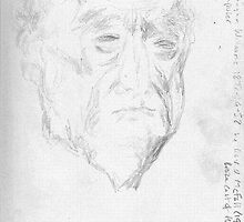 ralph vaughn williams -(050811)- pencil/sketchbook/copy of sculpture by paulramnora