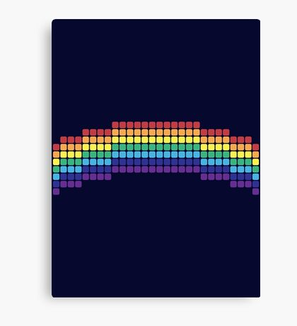 Retro Rainbow Canvas Print