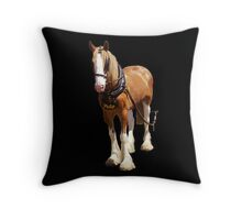 Douglas Horse Tramway Isle of Man Throw Pillow