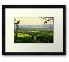 Rainbow Mountains Framed Print