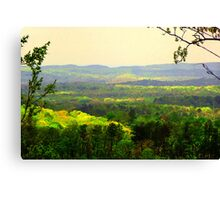 Rainbow Mountains Canvas Print