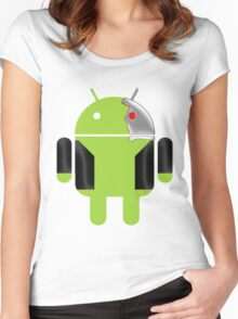 D-800 Women's Fitted Scoop T-Shirt