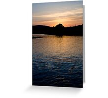 Dunmanus Bay Sunrise Sunset in Ireland 66 Greeting Card