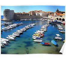Old Town Marina - Dubrovnik Poster