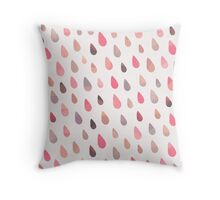 Opal Drops - Dawn Colorway Throw Pillow