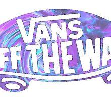grunge Vans logo by Emily Grimaldi