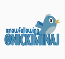 Nicki Minaj Twitter T-Shirt by PAGraphics