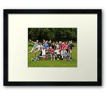 Hardman Family - Goofy Framed Print