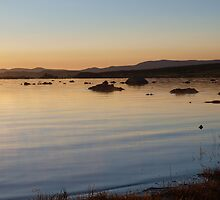 Sunrise on Mono Lake by jcandy