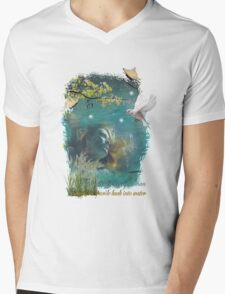 The Heart of a Loving Woman Mens V-Neck T-Shirt