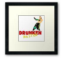 Jack Evans - Drunken Master Framed Print