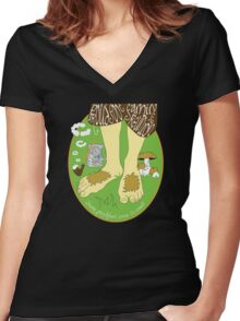Proudfoot Family Reunion Women's Fitted V-Neck T-Shirt