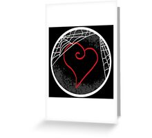 Window to a Heart Greeting Card