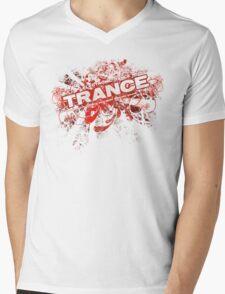 Trance – Electronic Dance Music - Red Mens V-Neck T-Shirt