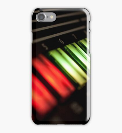 Synthesizer Control Light Six iPhone Case/Skin