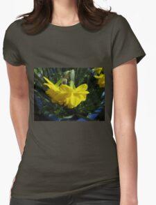 Nodding Daffodils Womens Fitted T-Shirt