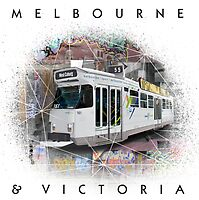 Melbourne Street View by kaligraf
