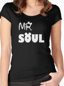 Mr Soul Women's Fitted Scoop T-Shirt