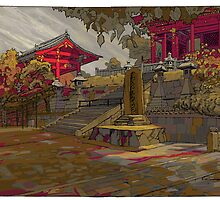 Kyoto Autumn by David  Kennett