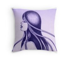 Triumph of the Moon II Throw Pillow