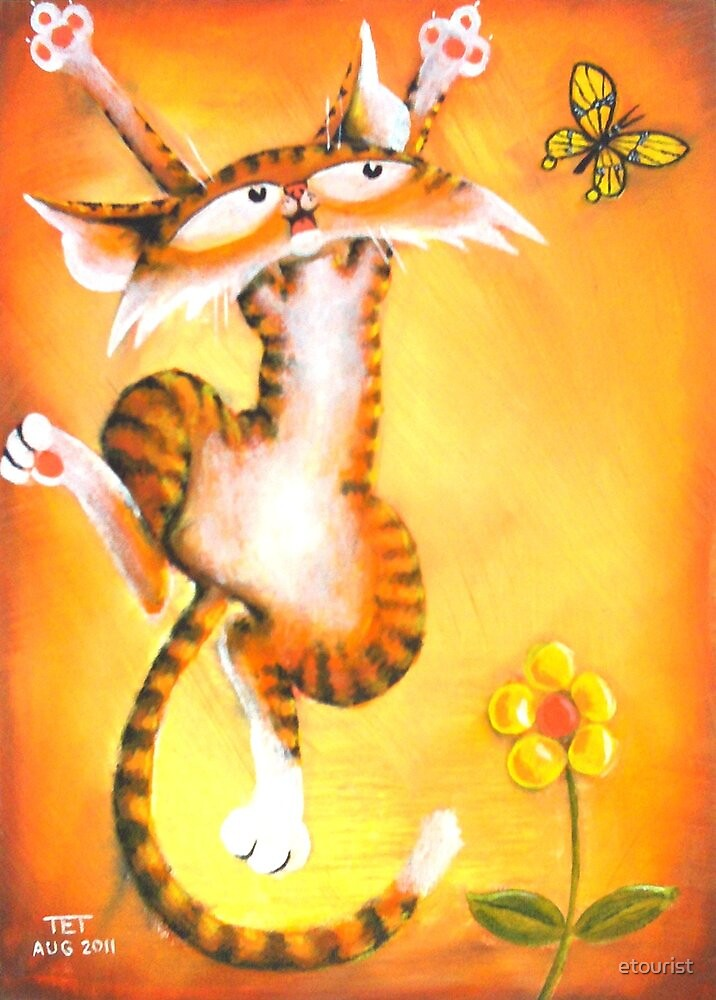 Jac Cat is Back by etourist
