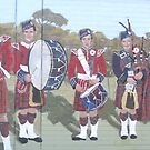 The Scots Band by Judy Woodman