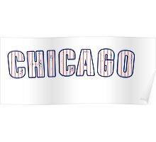 MLB City - Chicago (Cubs) Poster