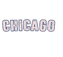 MLB City - Chicago (Cubs) Photographic Print