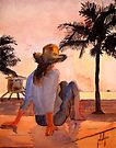 You Are Never Alone When Watching a Sunset by Jim Phillips